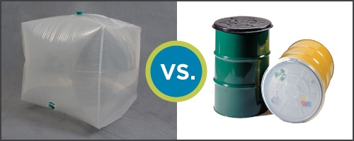 IBC Packaging-vs-Drum and Pail